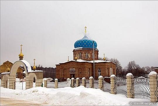 Церковь Иконы Божией Матери Казанская в Гагино, современный вид