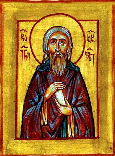 Преподобный Иоанн Хахульский, нареченный Златоустом