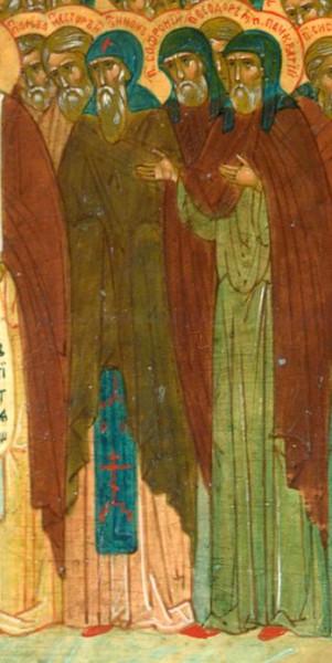 Преподобный Софроний Печерский, затворник