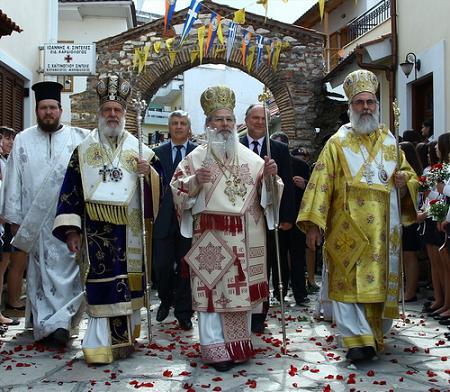 Крестный ход в Праздник святой Феодоры Артской