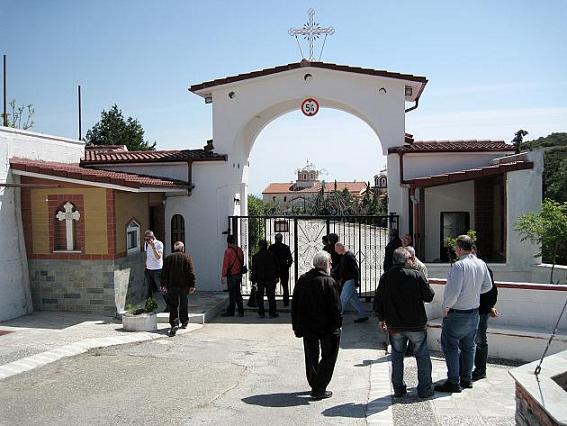 Монастырь Св. Арсения Каппадокийского. Халкидики, Греция