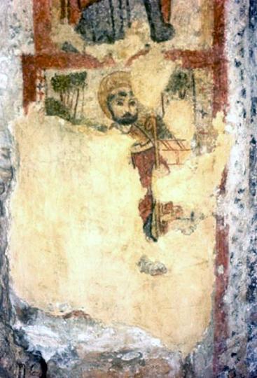 Сщмч. Публий. Фреска в катакомбах св. Агафии, Мальта