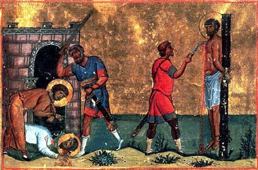 Мученики Трофим и Фал