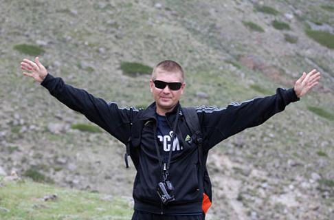 Майор Сергей Солнечников