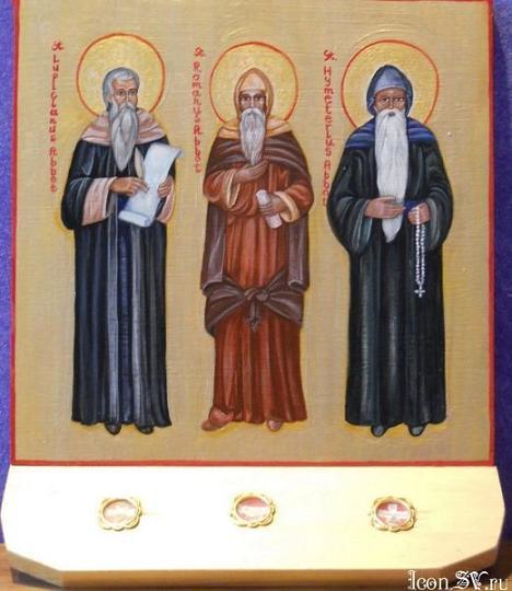 Святые Роман и Лупицин Кондатские