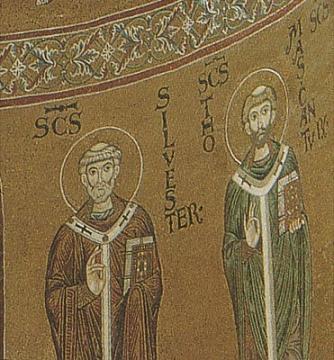 свтт. Сильвестр папа Римский и Фома патриарх Константинопольский