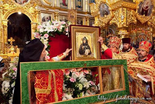 Чин прославления в лике местночтимых святых исповедников Киевской епархии схиигумении Софии (Гриневой)