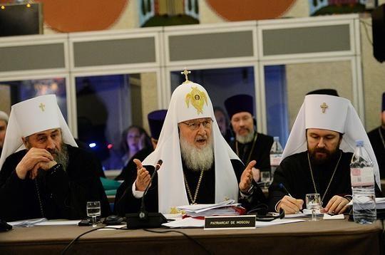 Собрание Предстоятелей Поместных Православных Церквей в Шамбези 3