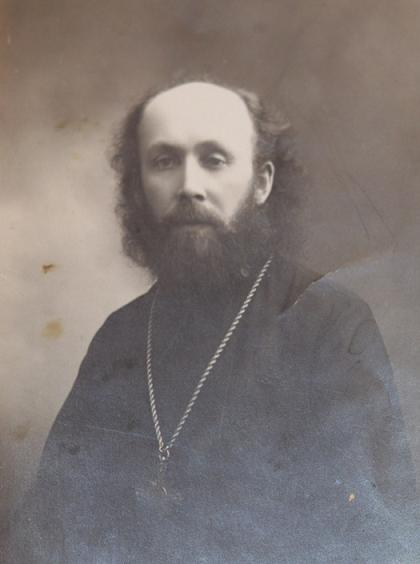 о. Николай Пискановский. Фото 1 мая 1927 г.