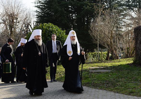 Собрание Предстоятелей Поместных Православных Церквей в Шамбези 22-27 января 2016 года 1