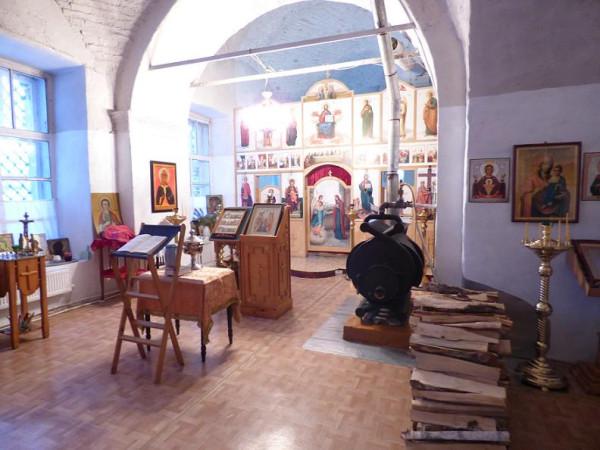 храм Илии пророка в Ильинском- малый придел
