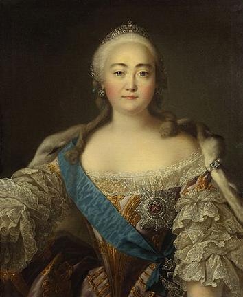 государыня Елизавета Петровна – императрица Всероссийская