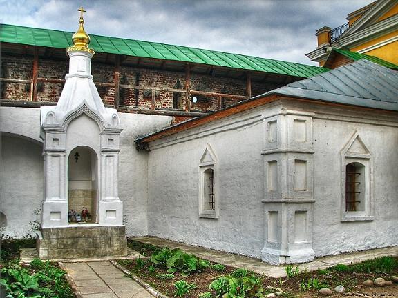 Часовня - кенотаф монахини Досифеи, Новоспасский монастырь, Москва