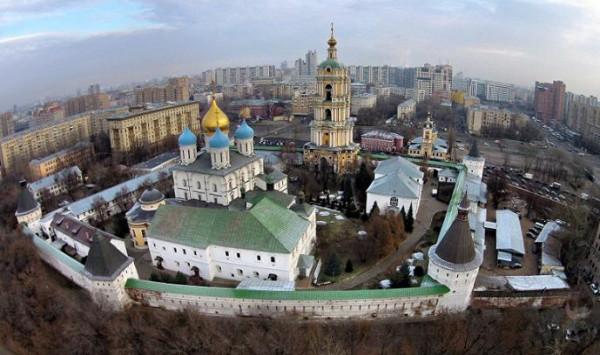 Новоспасский в честь Преображения Господня, ставропигиальный мужской монастырь, Москва