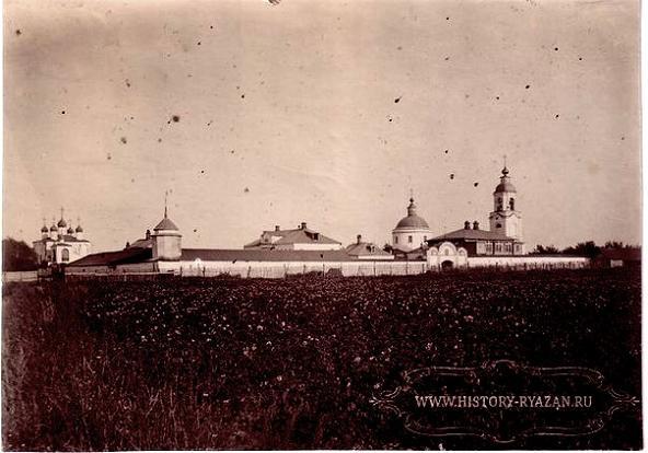 Успенский Ольгов женский монастырь - Льгово - Рязанский район, фото конца XIX-начала XX века