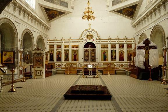 Христорождественский кафедральный собор, Рязань, справа рака с мощами свт. Гавриила Рязанского