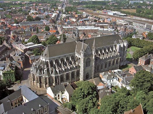Коллегиальная церковь святой Вальдетруды, Монс, Бельгия