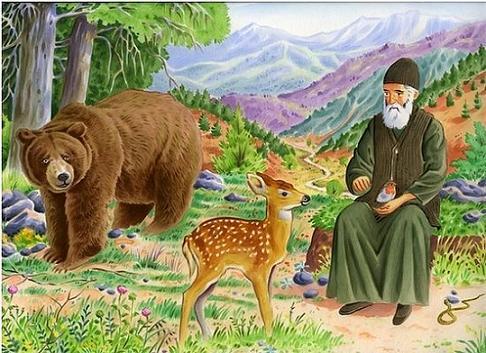 детская книга о Старце Паисии Святогорце 1