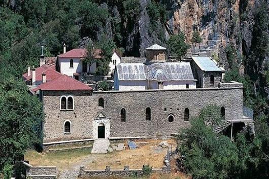 Монастырь Богоматери Стомиу Коницы в Янина, Греция