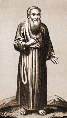 Прав. Даниил Ачинский. Хромолитография Е. И. Фесенко. 1891 г. (РГБ)