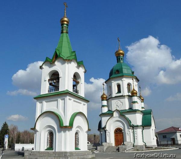 Церковь Даниила Ачинского - Красноярск