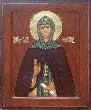 Преподобная Феодора Нижегородская, в миру Анастасия Ивановна, в иночестве Васса