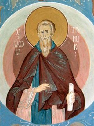 Преподобный Иаков Стромынский, игумен