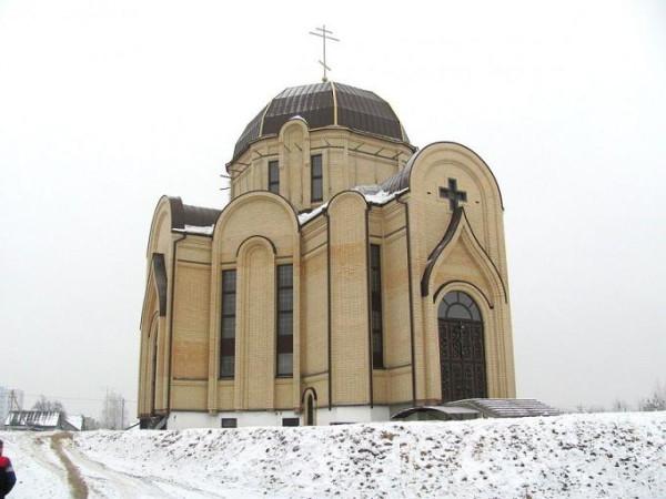 Церковь иконы Божией Матери Всех скорбящих Радость - Брест - Брестский район - Беларусь, фото 2015 года
