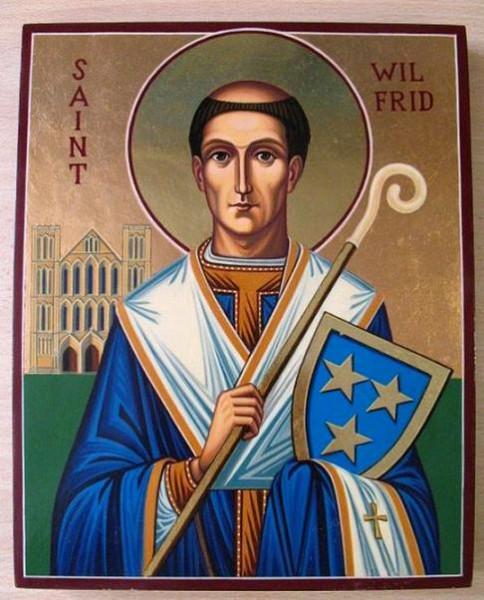 Святитель Вильфрид Старший (Wilfrid), епископ Йоркский