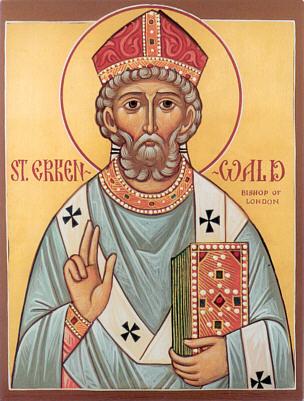 Св. Еркенвальд, епископ Лондонский