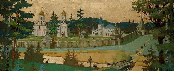 Троицкий монастырь в XV веке