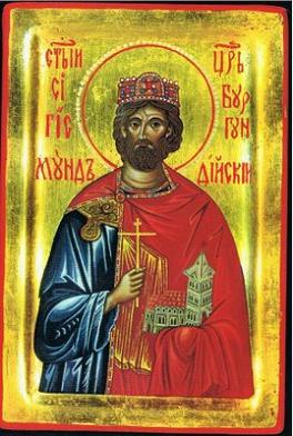 Мученик Сигизмунд, король Бургундский