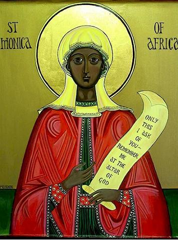 Святая Моника Тагастская, мать блаженного Августина