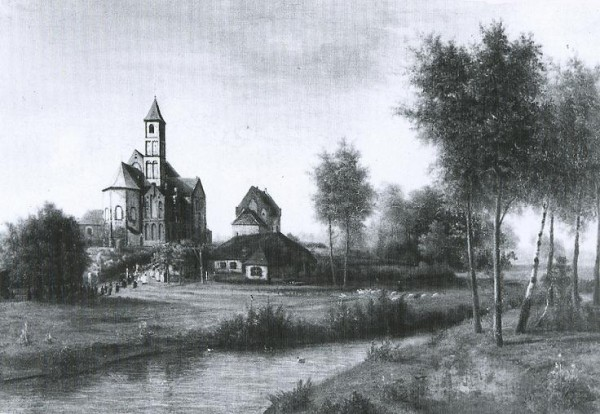 Монастырь Санкт Одилиенберг в XIX веке