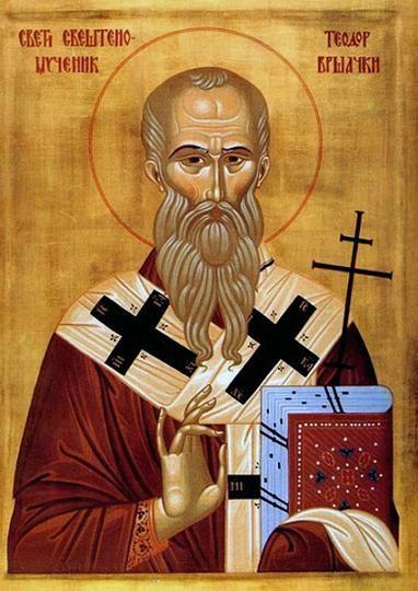 Священномученик Феодор, епископ Вршацкий