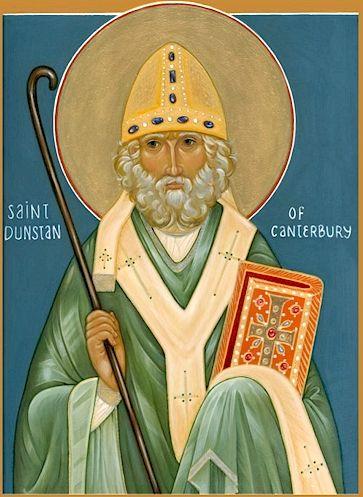Св. Дунстан, архиеп. Кентерберийский