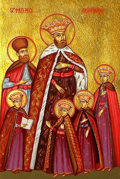 Мученики Константин Брынковяну, его сыновья и советник Янаке Вэкэреску