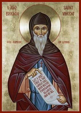 Преподобный Викентий (Винсент) Леринский