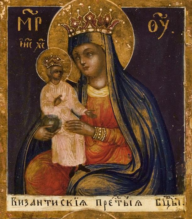 икона_Божьей_Матери_Византийская