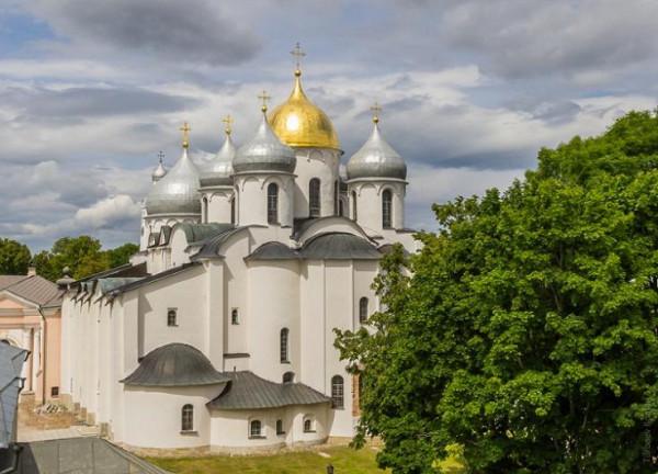 Собор Софии Премудрости Божией - Великий Новгород , фото Турбаева Романа, 2015г.