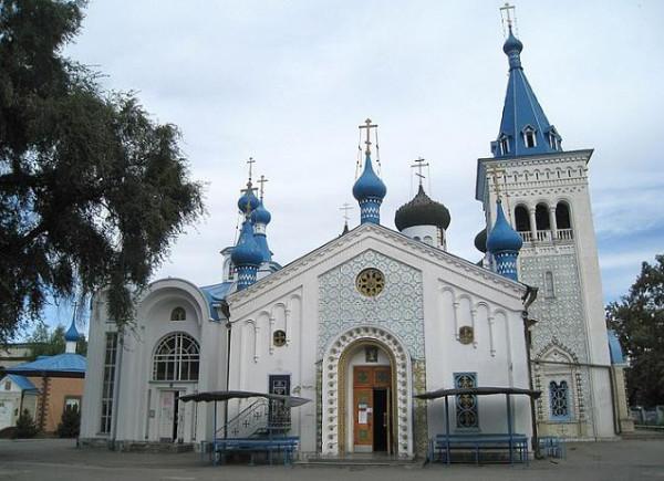 Кафедральный собор Воскресения Христова - Бишкек - Киргизия