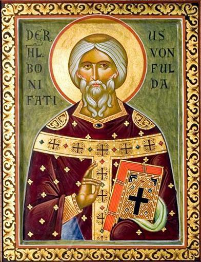 Священномученик Вонифатий Фульдский, в крещении Винфрид, архиепископ Майнцский