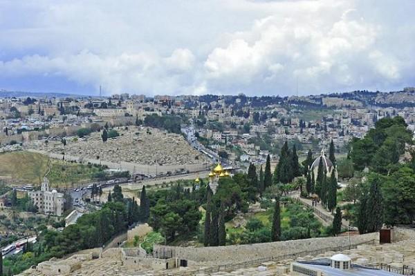 Елеонская гора, Иерусалим