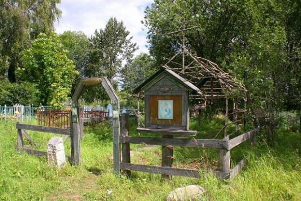 Церковь Троицы Живоначальной - Рябово - Калязинский район - Тверская область, место, где была церковь