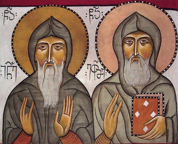 прп. Иоанн Иверский и Иоанн Торникий