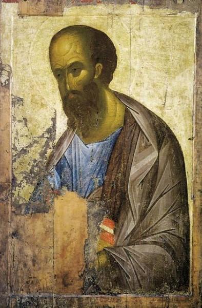 прп. Андрей Рублев, Апостол Павел из деисусного чина, 1410-е
