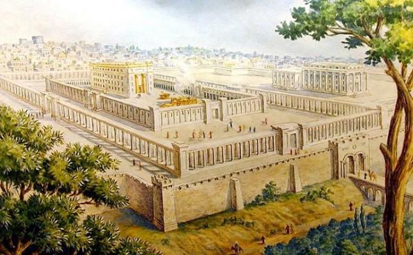 храм царя Соломона, Иерусалим, реконструкция
