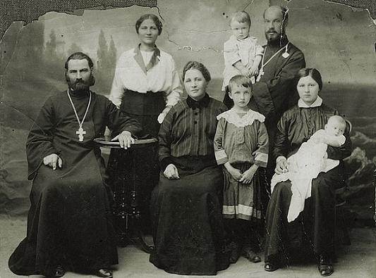 семья протоиерея Дмитрия Федотьева