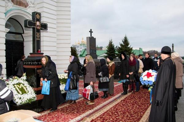 Митрополит Владимир (Сабодан) могила