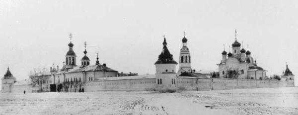 Владимирская Заоникиева пустынь - Лучниково - Вологодский район, фото конец  XIX века